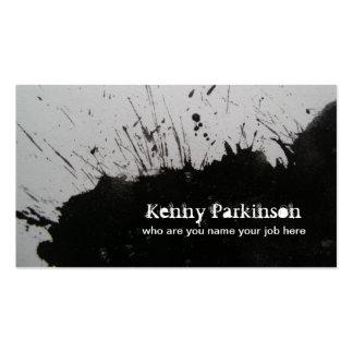 ink business card standard business cards