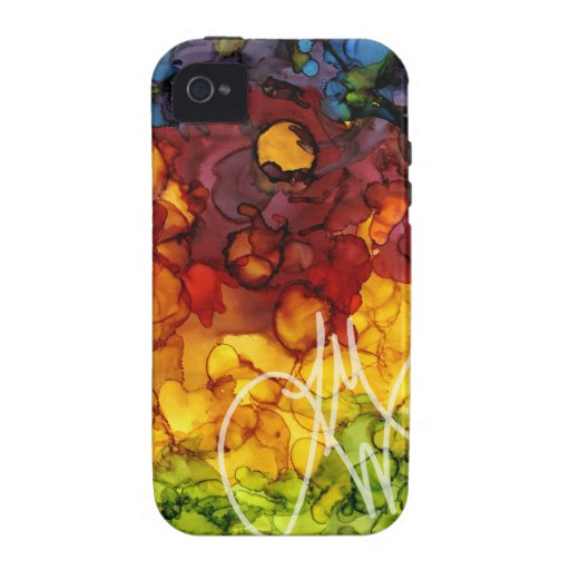 Ink Colors Case-Mate iPhone 4 Case