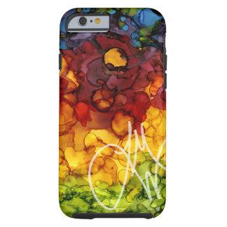 Ink Colors Tough iPhone 6 Case