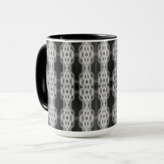Ink Deco I Combo Mug by Artist C.L. Brown