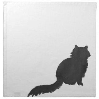 Ink Kitty Napkin