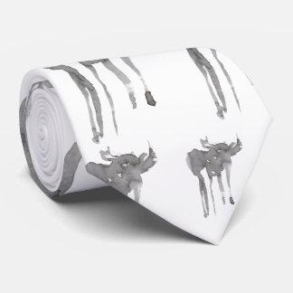 Ink Moose Tie
