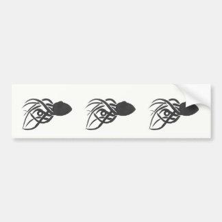 Ink Octopus Bumper Sticker