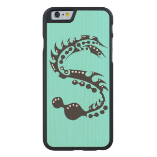 Ink Reptile Carved® Maple iPhone 6 Case