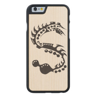 Ink Reptile Carved® Maple iPhone 6 Slim Case