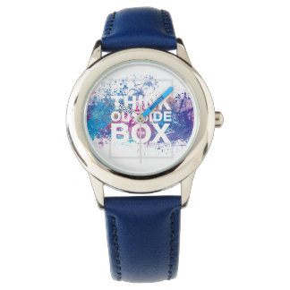 Ink Splatter Watch