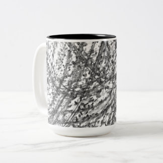 Ink Wash Two-Tone Mug by C.L. Brown