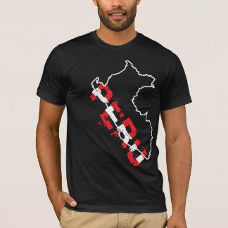 InKa1821 Label - Peru Map Shirt