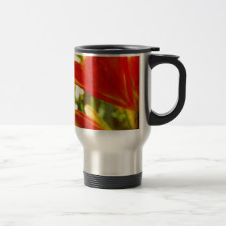 Inka Lily Abstract Travel Mug