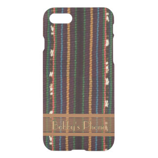 Inka Weaving Design with Your Name iPhone 8/7 Case
