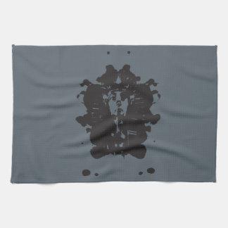 Inkblot Pharaoh Tea Towel