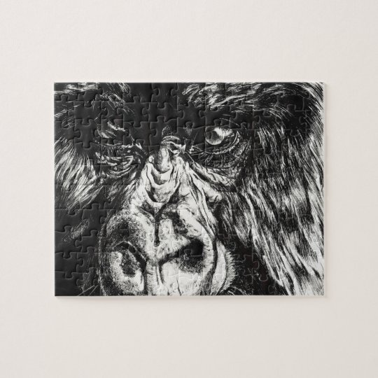 Inked Gorilla Puzzle