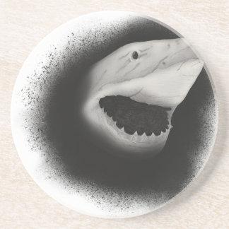 Inked Shark Attack Coaster