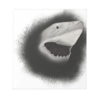 Inked Shark Attack Notepad