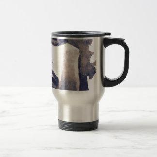 Inkwash face travel mug