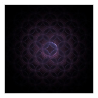 Inkx Abstract Fractal Poster