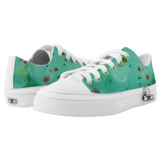 inky green low tops