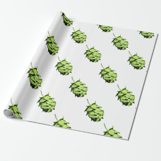 Inky Hop Illustration for Beer Lovers! Wrapping Paper