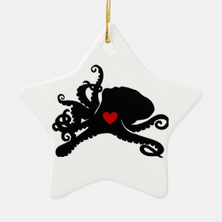 Inky Poo Logo Products Ceramic Star Decoration