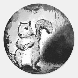Inky Squirrel Sticker