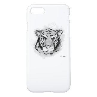 Inky Tiger iPhone Case