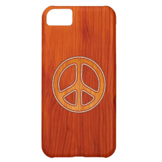 Inlaid Peace iPhone 5C Covers