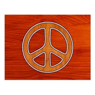 Inlaid Peace Postcard