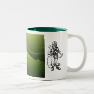 Inland Commercial Diving Two-Tone Coffee Mug
