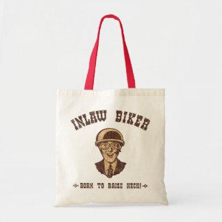 Inlaw Biker II Budget Tote Bag