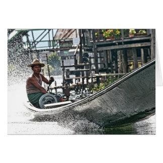 Inle Lake, Myanmar Card