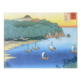 Inlet at Awa Province by Ando Hiroshige Postcard