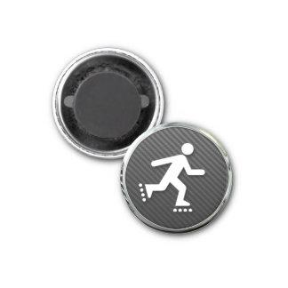 Inline Skating Icon Fridge Magnets