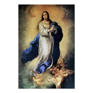 Inmaculate Conception 01A Virgin Mary Poster