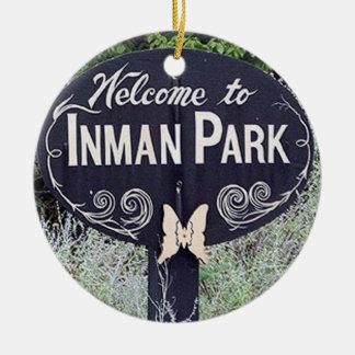 Inman Park, Atlanta Christmas Ornaments