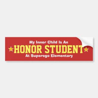 Inner Child/Honor Student - Bumper Sticker