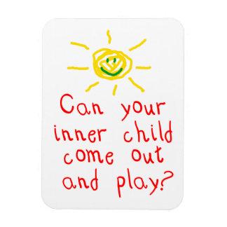 Inner Child Rectangular Photo Magnet