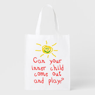 Inner Child Reusable Grocery Bag