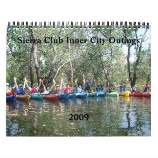 Inner City Outings, Sierra Club 2009 Calendar