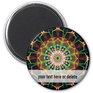 Inner Dream mandala 6 Cm Round Magnet