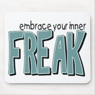 inner freak mouse pad