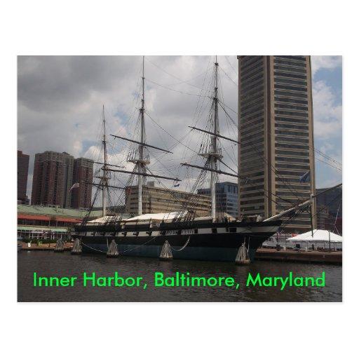 Inner Harbor Postcard