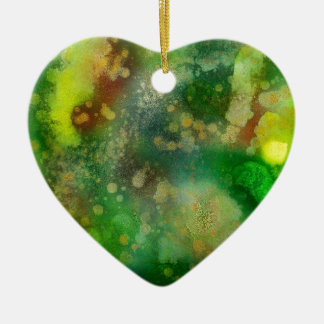 Inner Leaf Ceramic Ornament