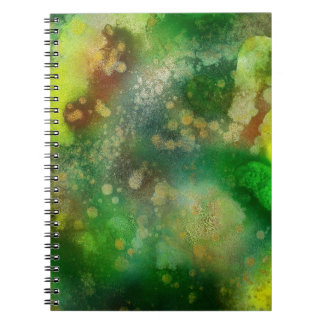 Inner Leaf Spiral Notebook