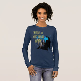 Inner Me Might Be My Enemy Long Sleeve T-Shirt