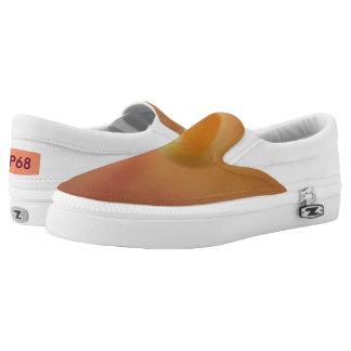 Inner Peach Calla Lilli Slip on Shoe Printed Shoes