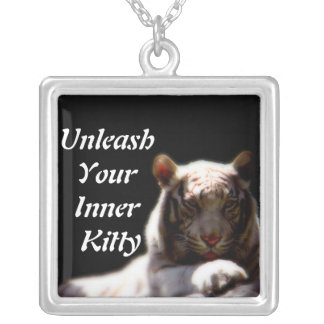 Inner Tiger Fashion Silver Plated Necklace