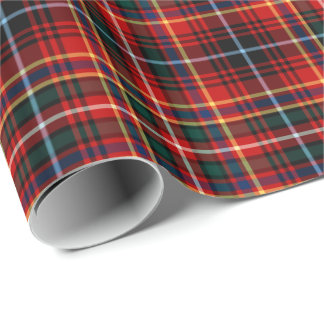 Innes Clan Tartan Wrapping Paper