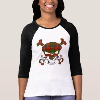 Innes Tartan Skull T-Shirt