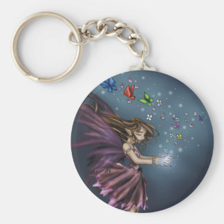 Innocence Basic Round Button Key Ring