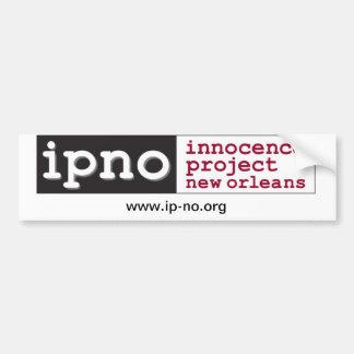 Innocence Project New Orleans Bumper Sticker